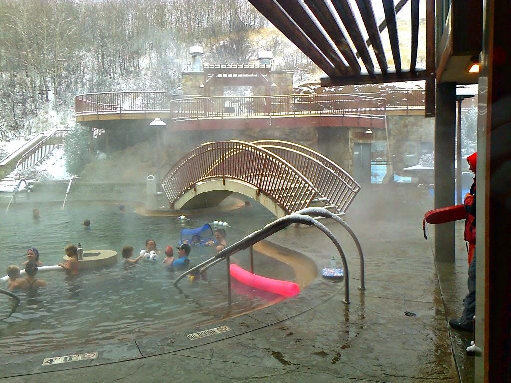 Hot Springs near Rocky Mountain National Park - Estes Park