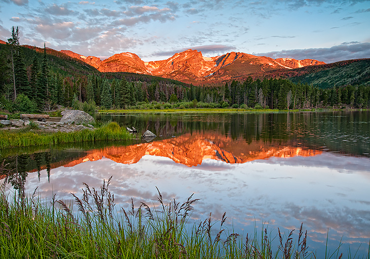 Sprague-Lake-Sunrise