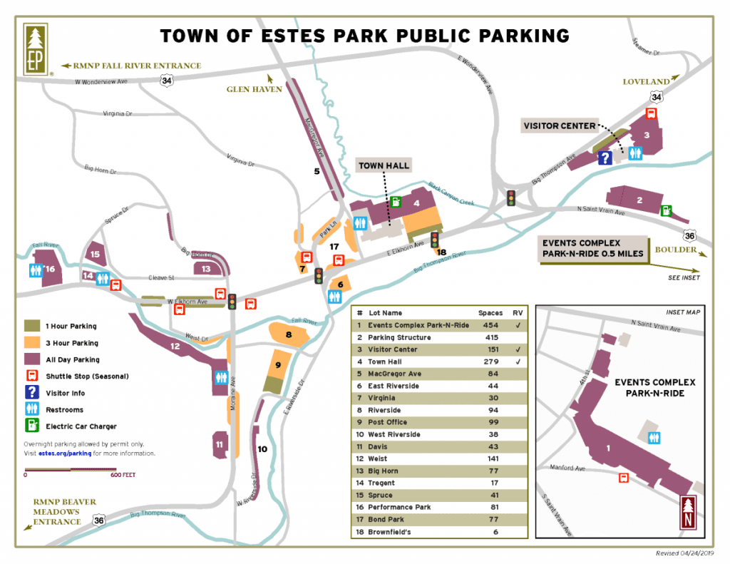 Estes Park Parking - Handy Tips and Information to find a ...